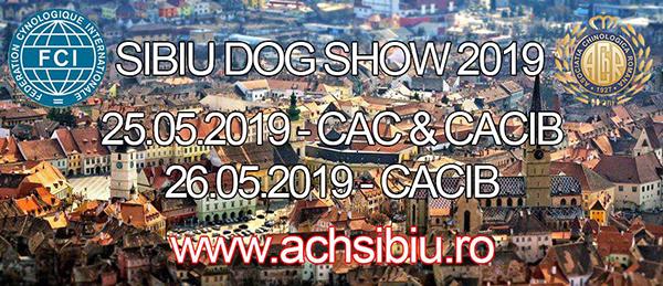 Expozitie de club si examen de selectie Sibiu -25.05.2019